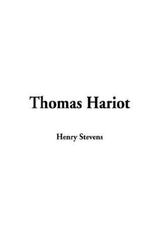 Download Thomas Hariot