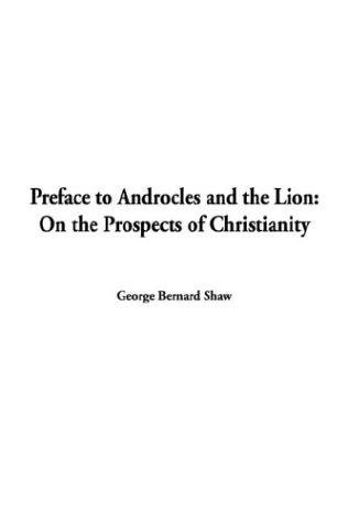Preface to Androcles and the Lion