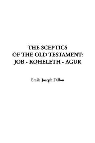 The Sceptics of the Old Testament