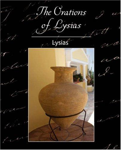 Download The Orations of Lysias