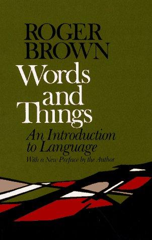 Download Words and Things