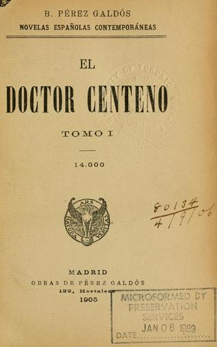 Download El doctor centeno