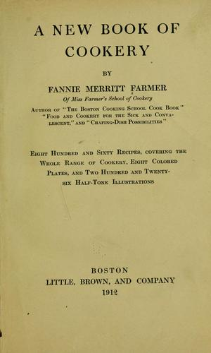 Download A new book of cookery