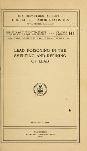 Download Lead poisoning in the smelting and refining of lead
