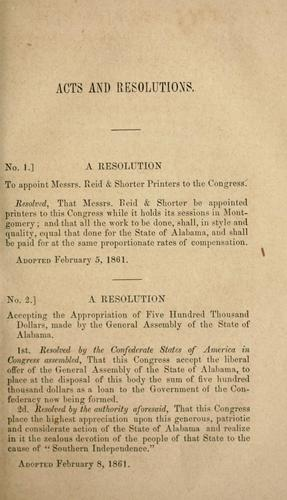 Provisional and permanent constitutions, of the Confederate States.