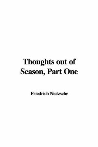 Download Thoughts Out of Season, Part One