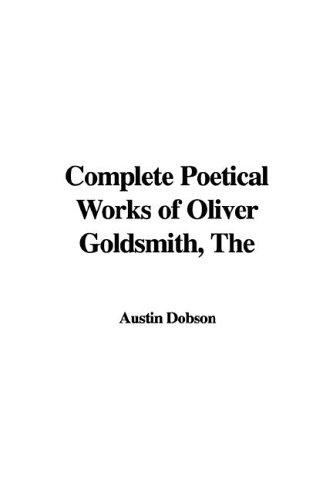 Download The Complete Poetical Works of Oliver Goldsmith