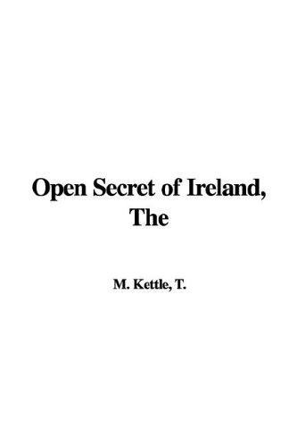 Download The Open Secret of Ireland