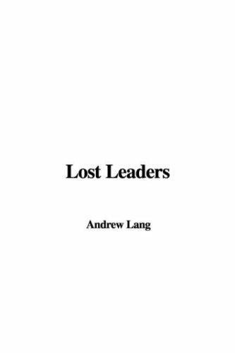Download Lost Leaders