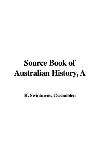 Download A Source Book of Australian History