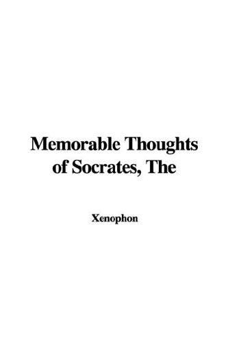 Download Memorable Thoughts of Socrates