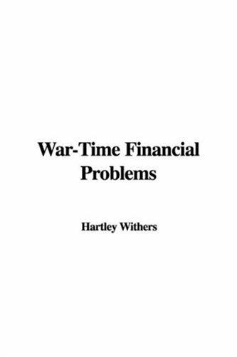 Download War-time Financial Problems