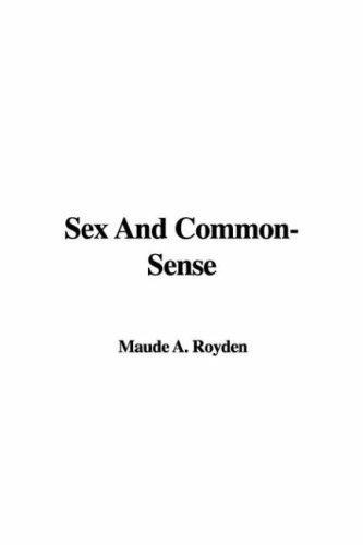 Download Sex And Common-sense