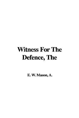 Download Witness for the Defence