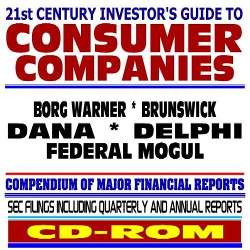 21st Century Investors Guide to Consumer Companies
