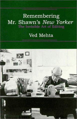Download Remembering Mr. Shawn's New Yorker