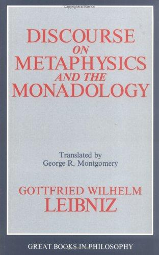 Download Discourse on metaphysics ; and, The monadology