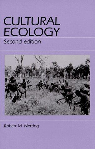 Download Cultural ecology