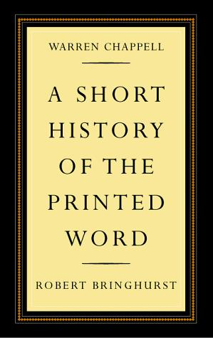A short history of the printed word