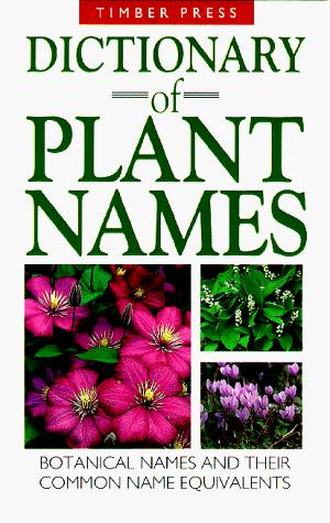 Download Dictionary of Plant Names