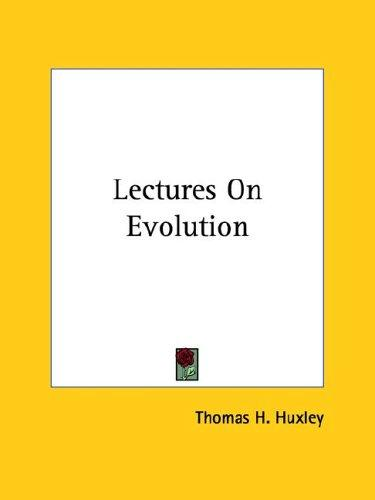 Download Lectures on Evolution
