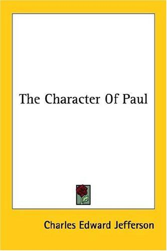 The Character Of Paul