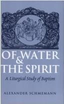 Download Of water and the spirit
