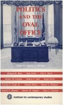 Politics and the Oval Office