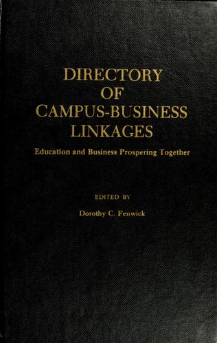 Directory of Campus-Business Linkages