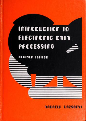 Introduction to electronic data processing