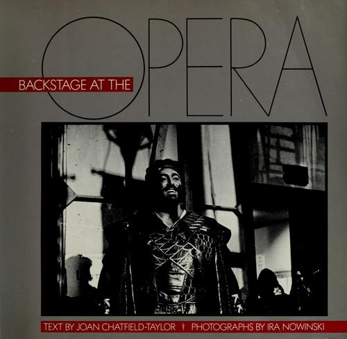 Download Backstage at the opera
