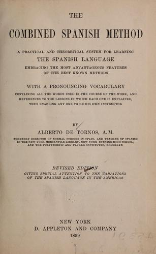 The combined Spanish method