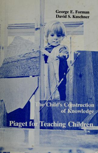 Download The child's construction of knowledge