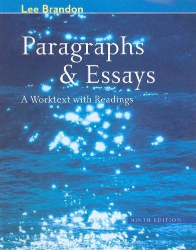 Download Paragraphs and essays