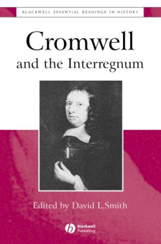 Image for Cromwell and the Interregnum: The Essential Readings (Blackwell Essential Readings in History)