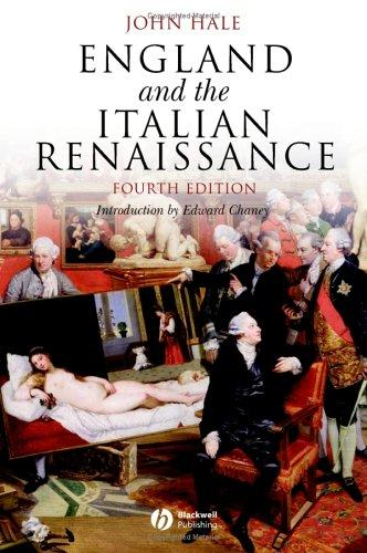 Download England and the Italian Renaissance