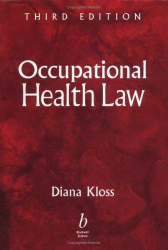 Download Occupational health law