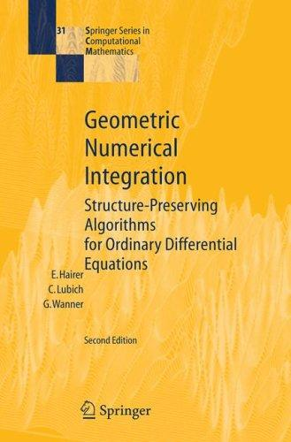 Download Geometric Numerical Integration