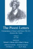 Download The Piozzi letters