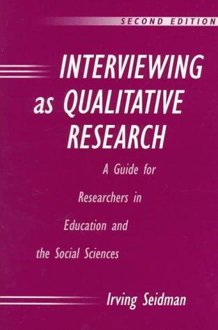 Download Interviewing as qualitative research