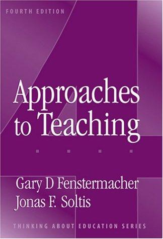 Download Approaches to teaching