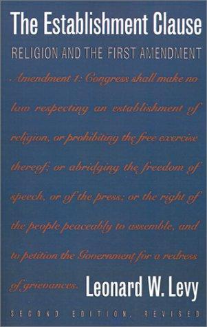 Download The establishment clause