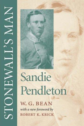Stonewall's man, Sandie Pendleton