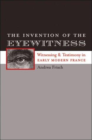 Download The Invention of the Eyewitness