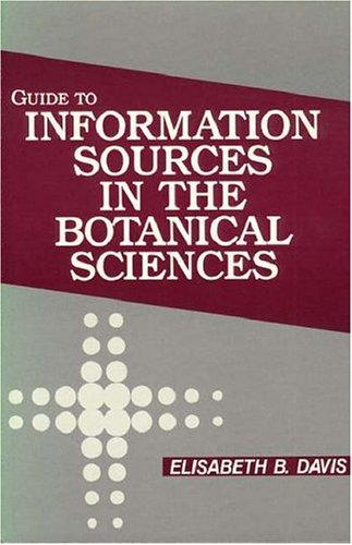 Download Guide to information sources in the botanical sciences