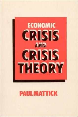 Download Economic crisis and crisis theory