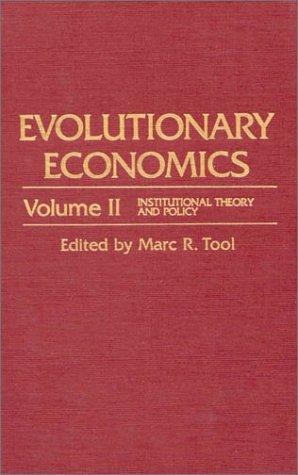 Download Evolutionary Economics