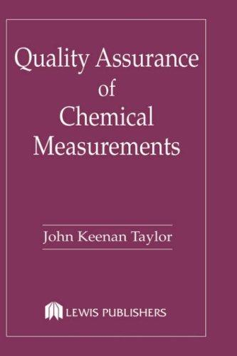 Download Quality assurance of chemical measurements