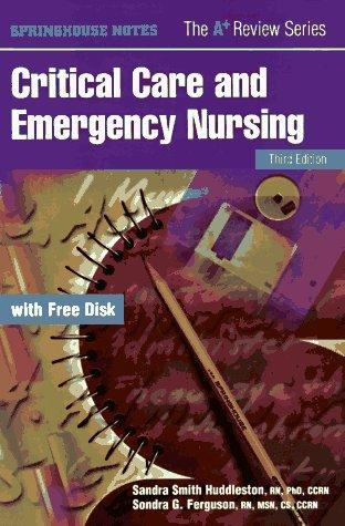 Download Critical care and emergency nursing