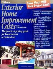 Exterior Home Improvement Costs: The Practical Pricing Guide For Homeowners & Contractors PDF Download